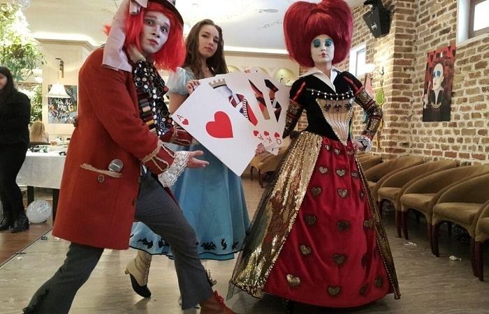 Аниматоры Алиса в Стране чудес в Ташкенте