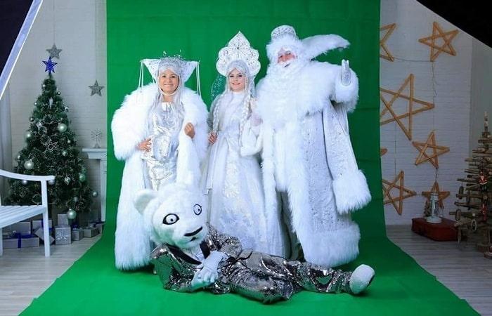 Дед мороз и Снегурочка в Ташкенте | Заказать на Новый Год