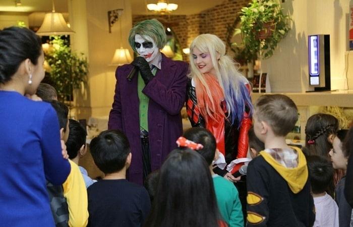 Аниматоры Харли и Джокер в Ташкенте